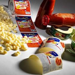 Etichette per alimentari di vario genere