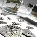 Pewter labels